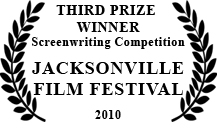 winner, jacksonville film festival, third prize screenwriting competition