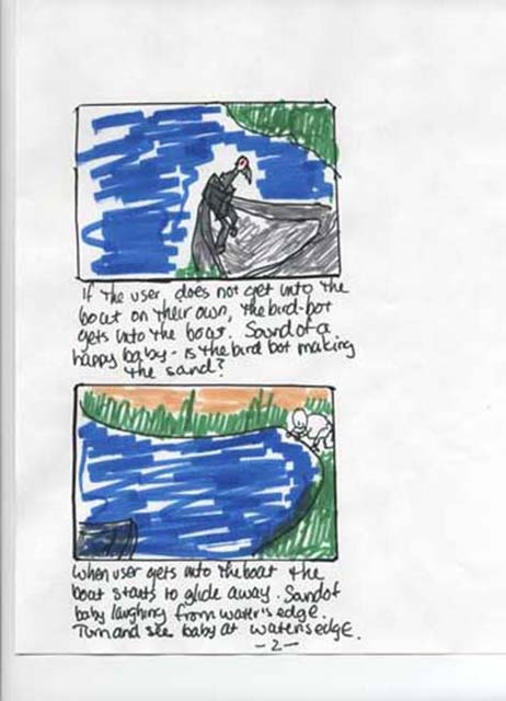 Lake storyboards page 1