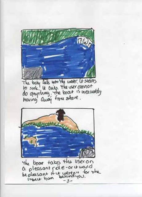 Lake storyboards page 3